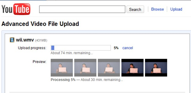 Youtube Advance Video Upload