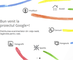 google plus patrat